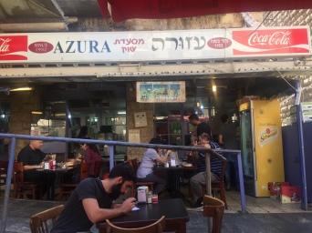 Azura Restaurant - Local fav in Mahand Yehuda Market