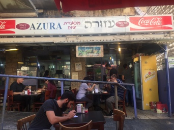 Azura Restaurant - Local fav in Mahand Yehuda Market