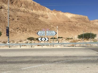 Heading to Ein Gedi