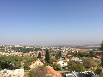 Golan Heights View from Rosh Pinna