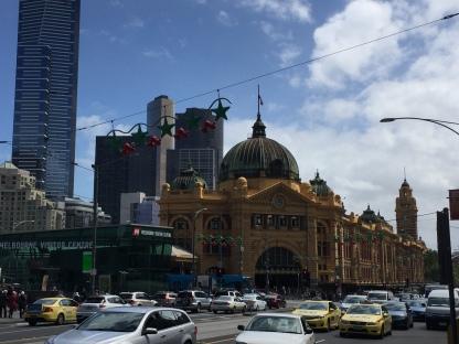 Flinders Street Station - Downtown