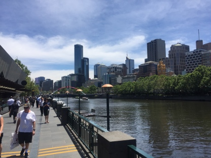 Yarra River - Downtown