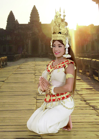 Cambodian Princess Barbie