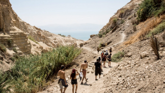 Hiking in Ein Gedi Reserve