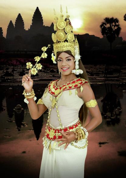 Cambodian Princess Barbie