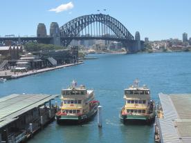 Circular Quay - Sydney Ferries