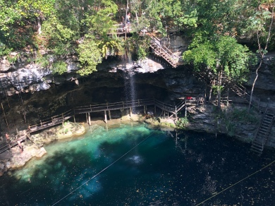 Cenote Xcanche - @Ek Balam Ruins